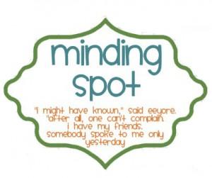 mindingthespot